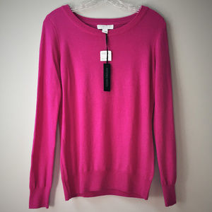Forever 21 Essentials Wool Sweater Orchid NWT